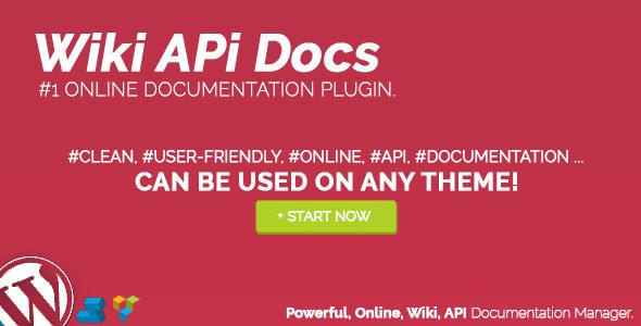 Wiki API Docs - Online Documentation Manager