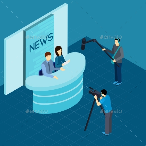 Professional Journalists at Studio Isometric - Miscellaneous Conceptual