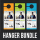 3 Corporate Business Door Hanger Bundle 05 - GraphicRiver Item for Sale