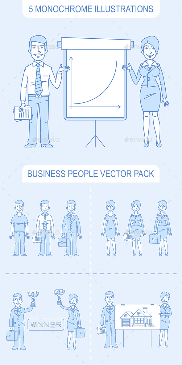 Business People Pack - People Characters