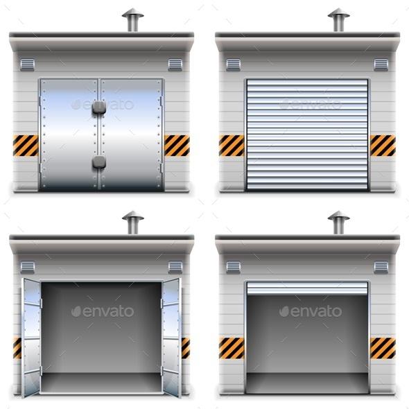 Vector Garages - Industries Business