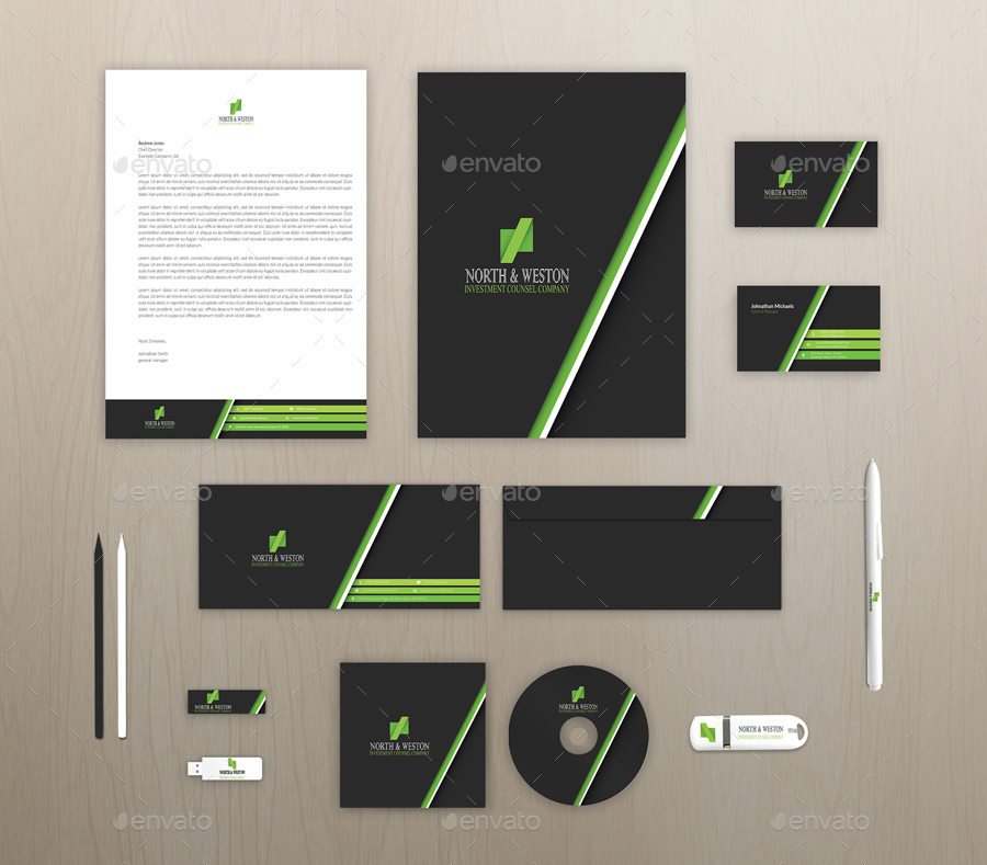 Blue Corporate Stationary Pack By Betty Design: Corporate Stationery Pack By Betty_design