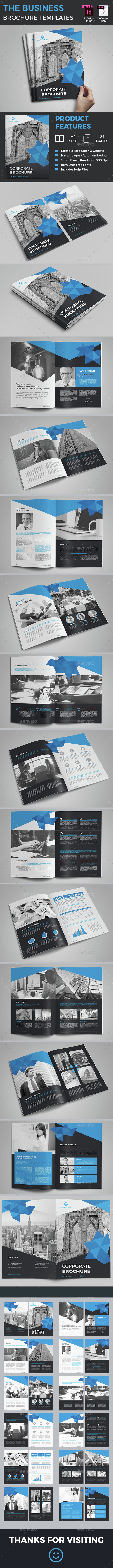 The Business Brochure Template - Corporate Brochures