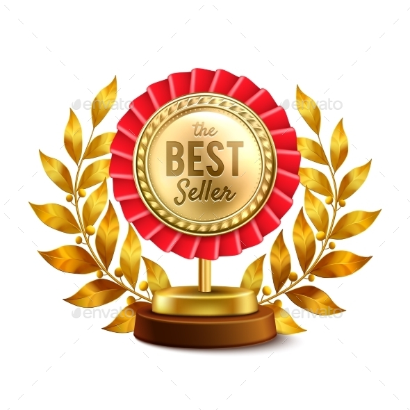Best Seller Gold Medal Realistic Design - Services Commercial / Shopping