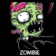 Zombie T-shirt Design - GraphicRiver Item for Sale