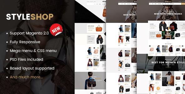 Styleshop - Responsive Multipurpose Magento 2 Theme