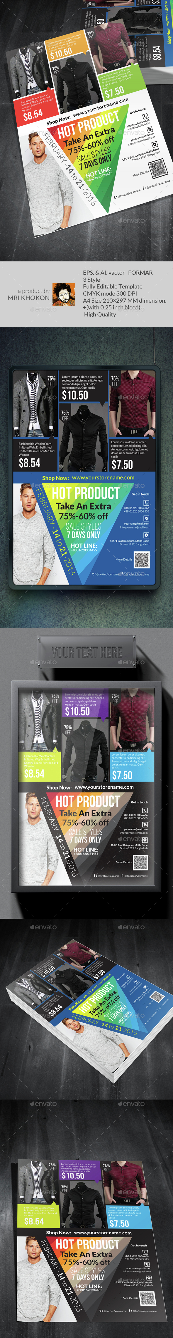 Sales Flyer Template - Flyers Print Templates