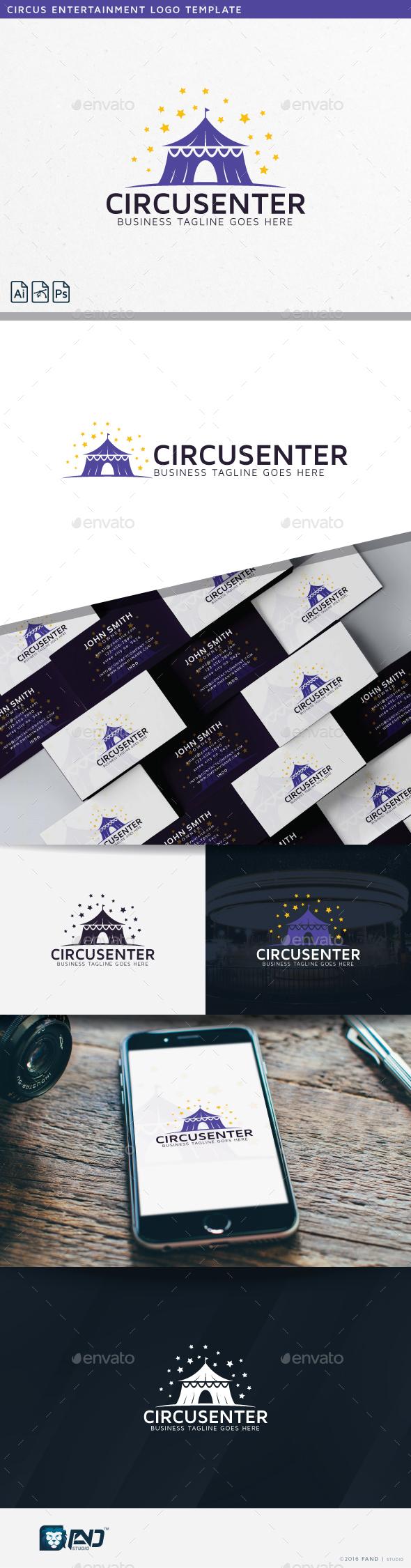 Circus Logo - Buildings Logo Templates
