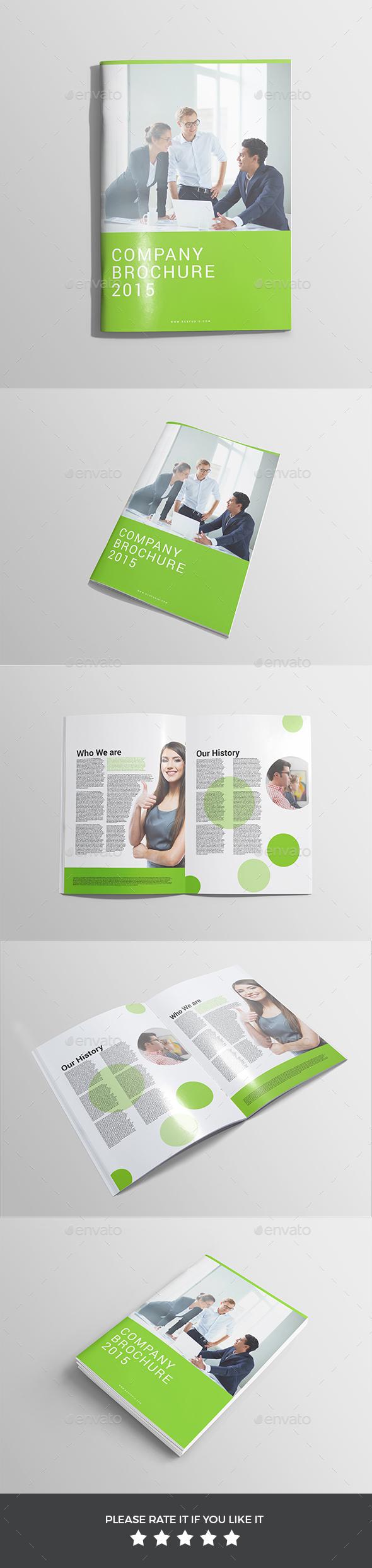 Brochure/ Magazine Mockup - Print Product Mock-Ups