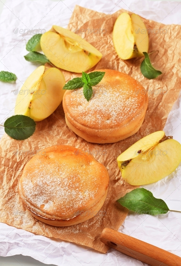 Apple pies - Stock Photo - Images