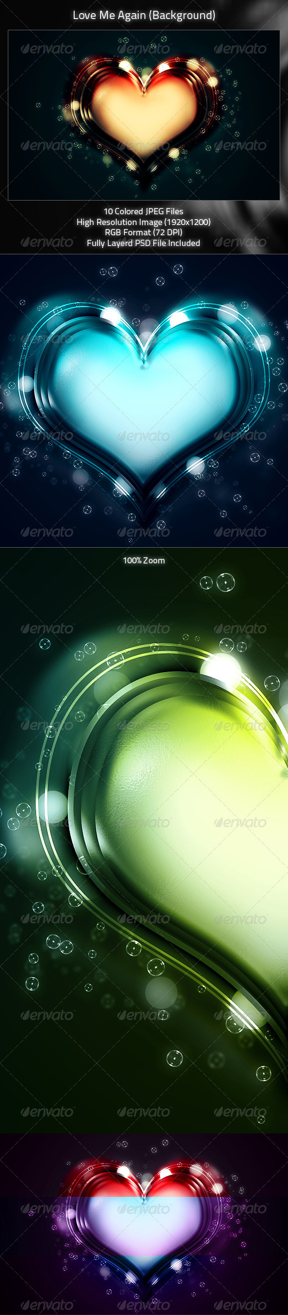 Love Me Again (Background Design) - Miscellaneous Backgrounds