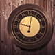 The Wooden Wall Clock - VideoHive Item for Sale