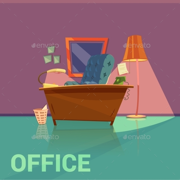 Office Retro Design  - Man-made Objects Objects
