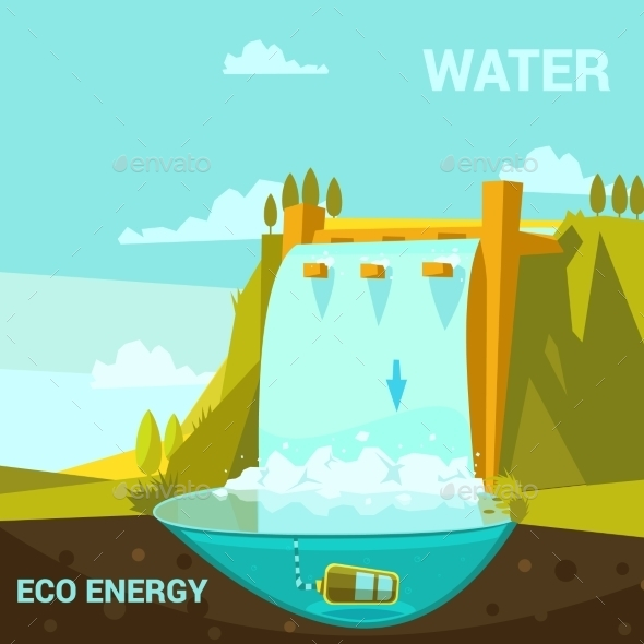 Ecological Energy Poster - Technology Conceptual