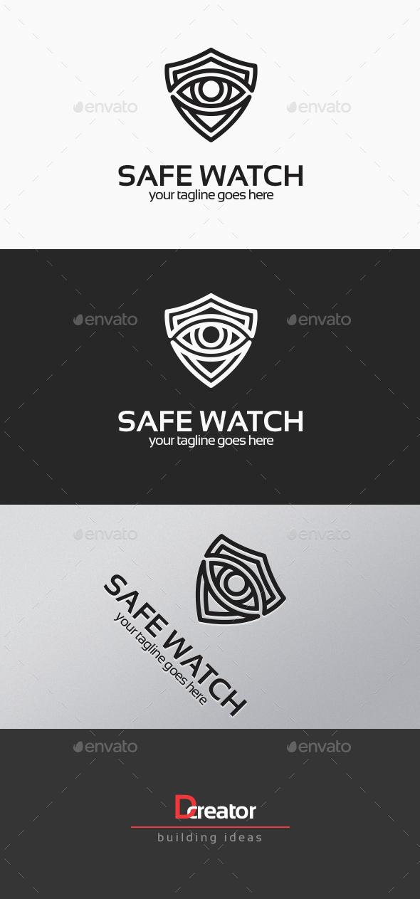 Safe Watch Logo - Humans Logo Templates