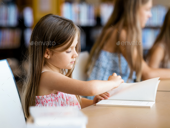 I love reading - Stock Photo - Images