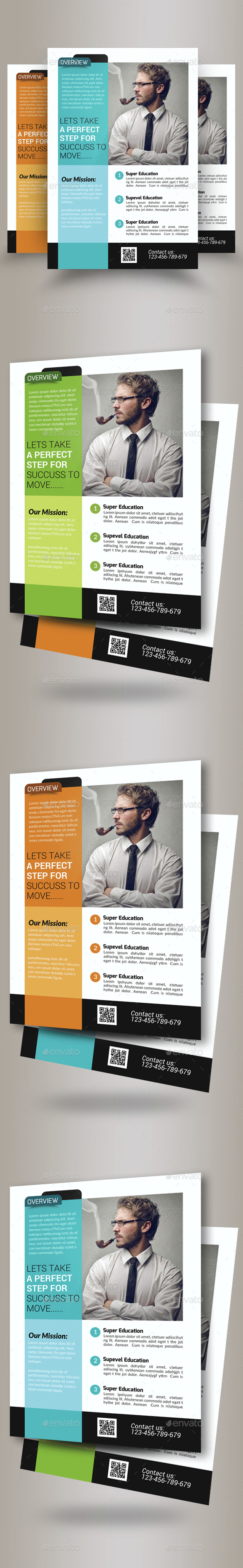 Insurance Company Business Flyer Template - Corporate Flyers