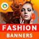 Fashion Banners - GraphicRiver Item for Sale