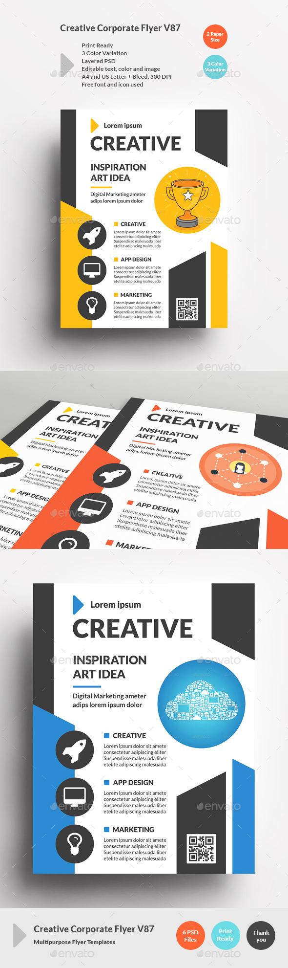 Creative Corporate Flyer V87 - Corporate Flyers