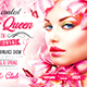 Spring Queen Party Flyer - GraphicRiver Item for Sale