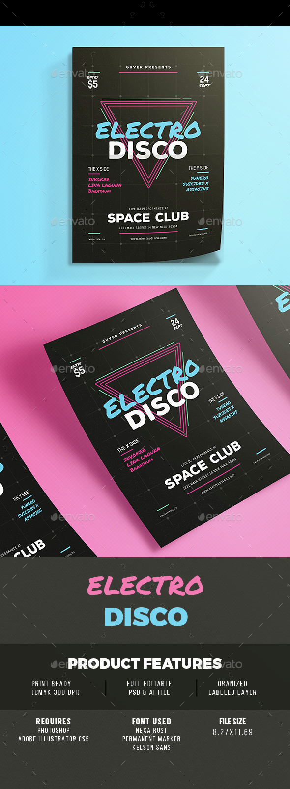 Electro Space - Clubs & Parties Events