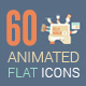 Animated Flat Icons Pack V2 - VideoHive Item for Sale