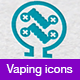 Vaping Icons - GraphicRiver Item for Sale