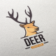 Deer Logo Template - GraphicRiver Item for Sale