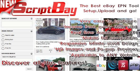 ScriptBay - Advanced Affiliate Ebay Script - CodeCanyon Item for Sale