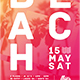 Minimal Beach Flyer - GraphicRiver Item for Sale