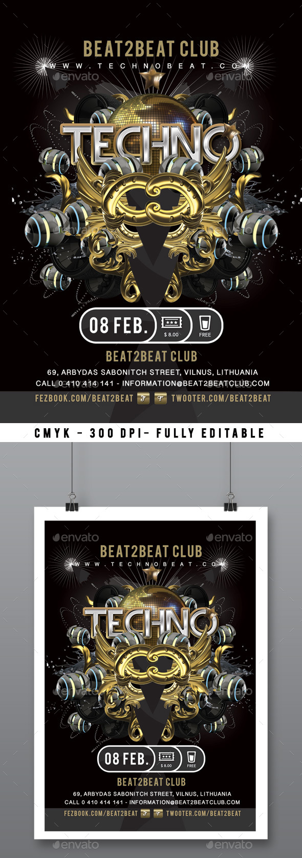 Techno Beat Party - Clubs & Parties Events