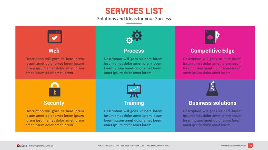 powerpoint template list choice image powerpoint