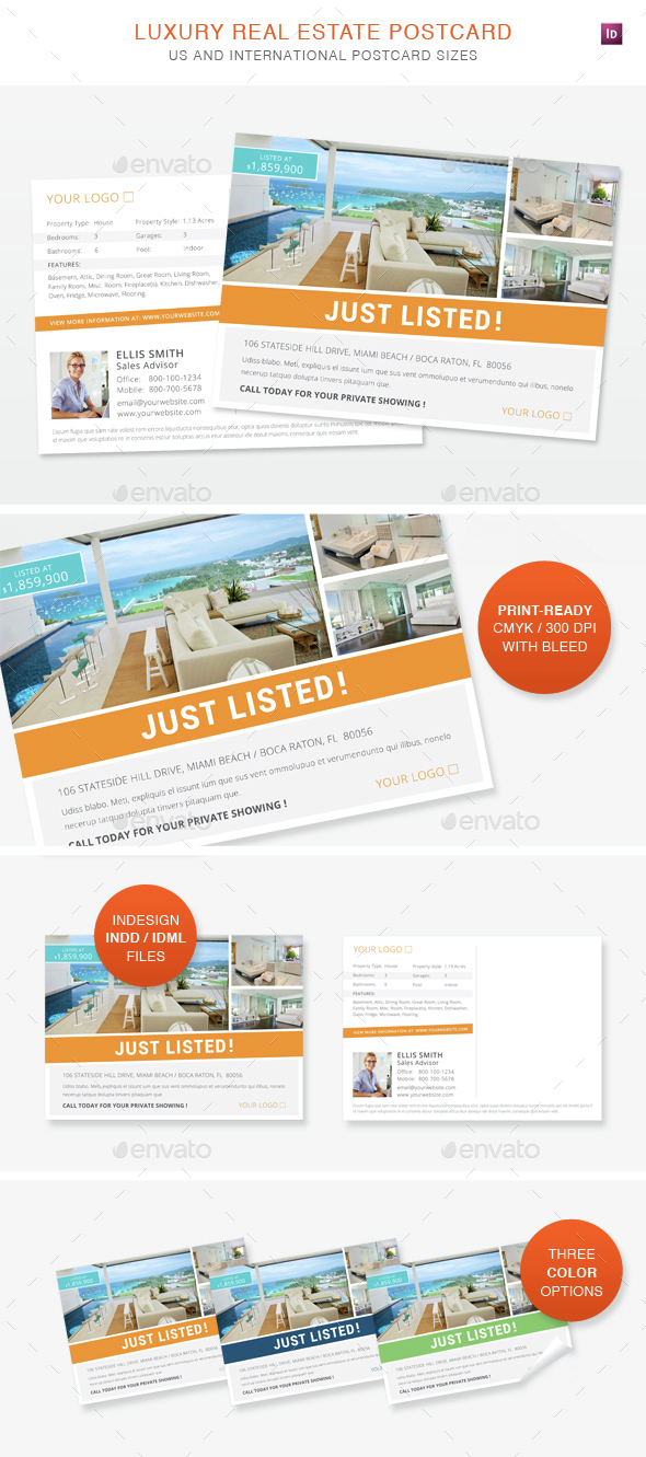 Real Estate Postcard - Corporate Flyers