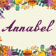 Annabel Script Typeface - GraphicRiver Item for Sale