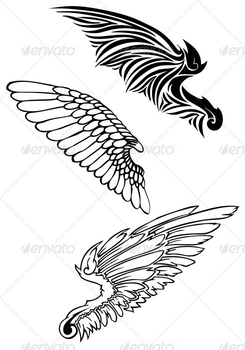 Vector Wings - Animals Characters