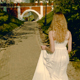 Young Woman Walking in White Dress - VideoHive Item for Sale