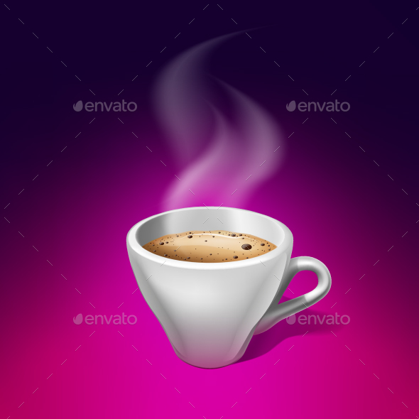 Espresso Coffee - Food Objects