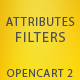 Attributes Filters for OpenCart 2 - CodeCanyon Item for Sale