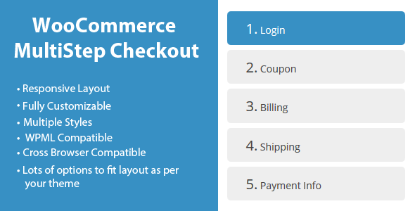 WooCommerce MultiStep Checkout Wizard - CodeCanyon Item for Sale