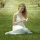 Young Woman With A Book - VideoHive Item for Sale