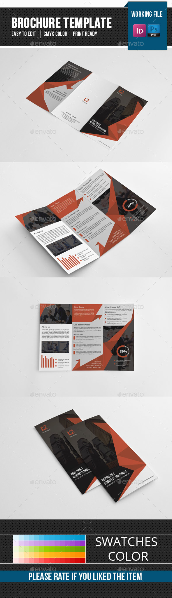 Corporate Trifold Brochure-V278 - Corporate Brochures