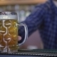 Bartender Serving Two Glasses Of Beer - VideoHive Item for Sale