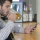 A Young Man Holding a Glass Of Beer - VideoHive Item for Sale