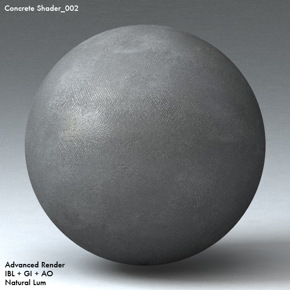Concrete Shader_002 - 3DOcean Item for Sale