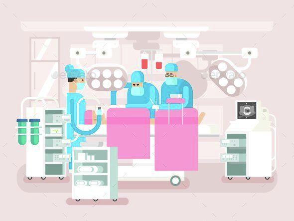 Operating Room Design - Health/Medicine Conceptual
