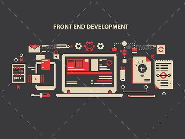Front End Development - Miscellaneous Vectors