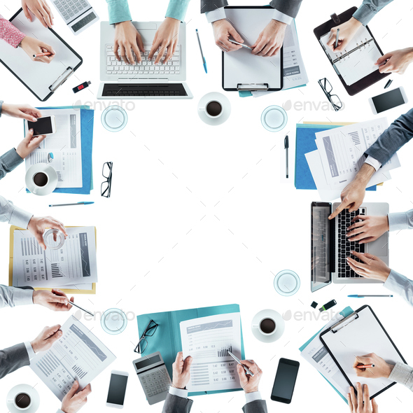 Business team meeting - Stock Photo - Images