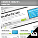 Clean Banner Sliders - GraphicRiver Item for Sale