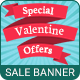 Valentine's Day | Sale Banner - 07 Sizes
