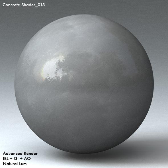 Concrete Shader_013 - 3DOcean Item for Sale